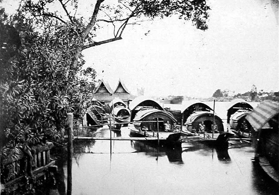 1888 Riverside view of the Chao Phraya River.jpg