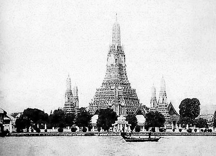 1894 River view of Wat Phra Prang Ramindra, Bangkok.jpg