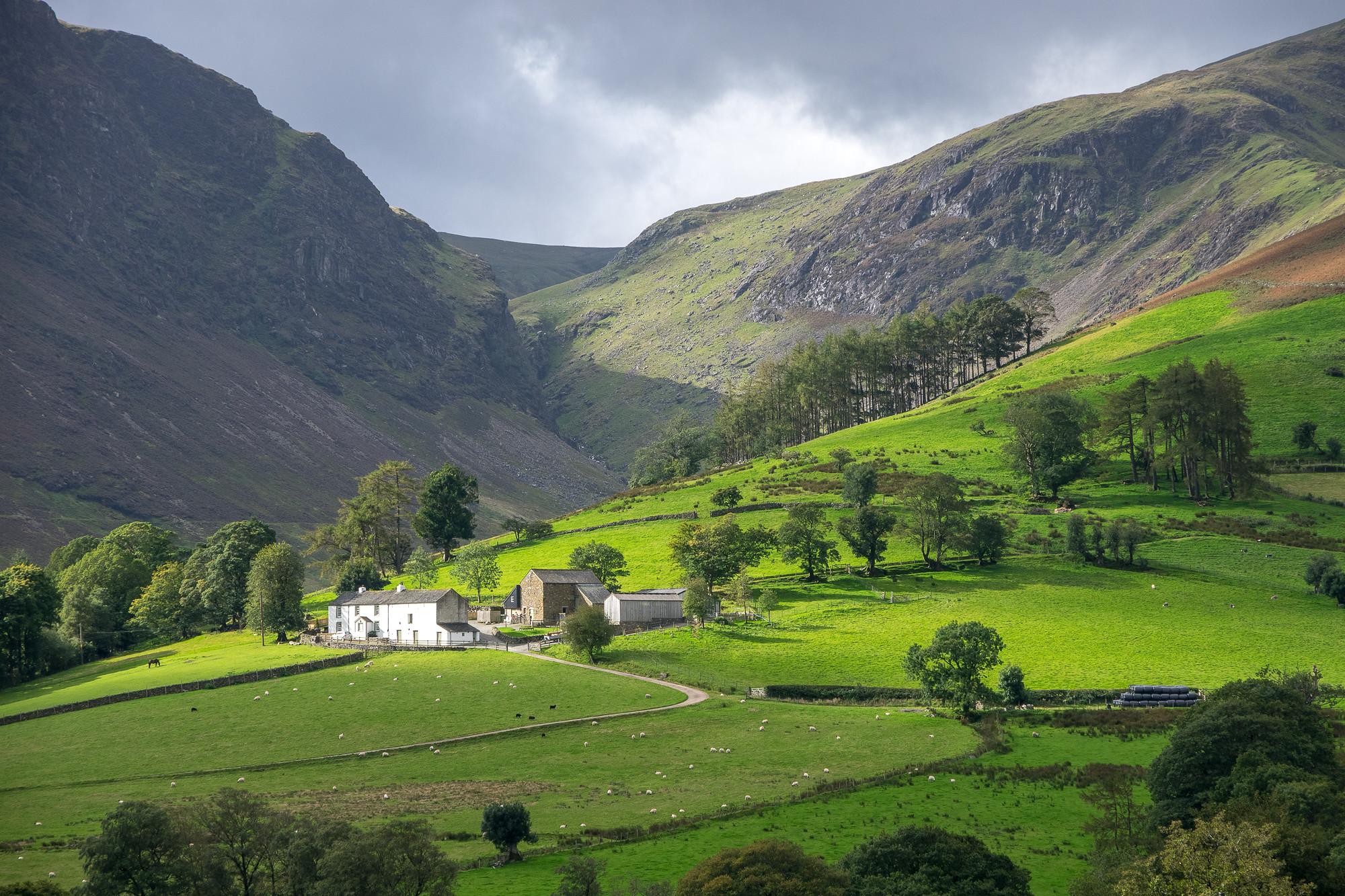 Newlands Valley, Lake District by Ken Barley.jpg