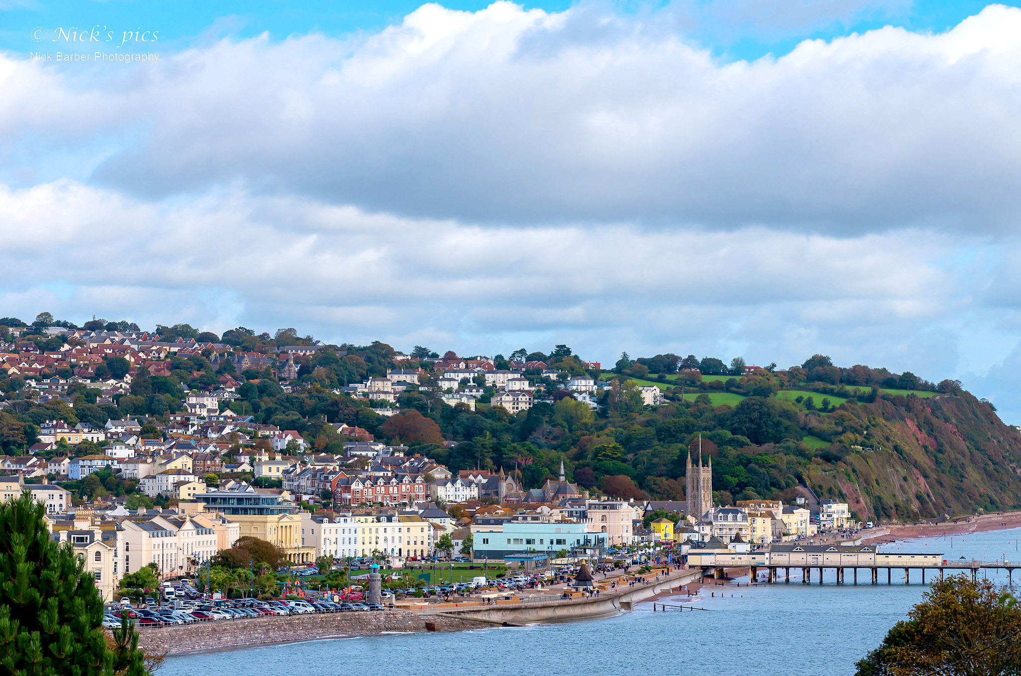 Teignmouth from Shaldon Ness by Nick Barber.jpg