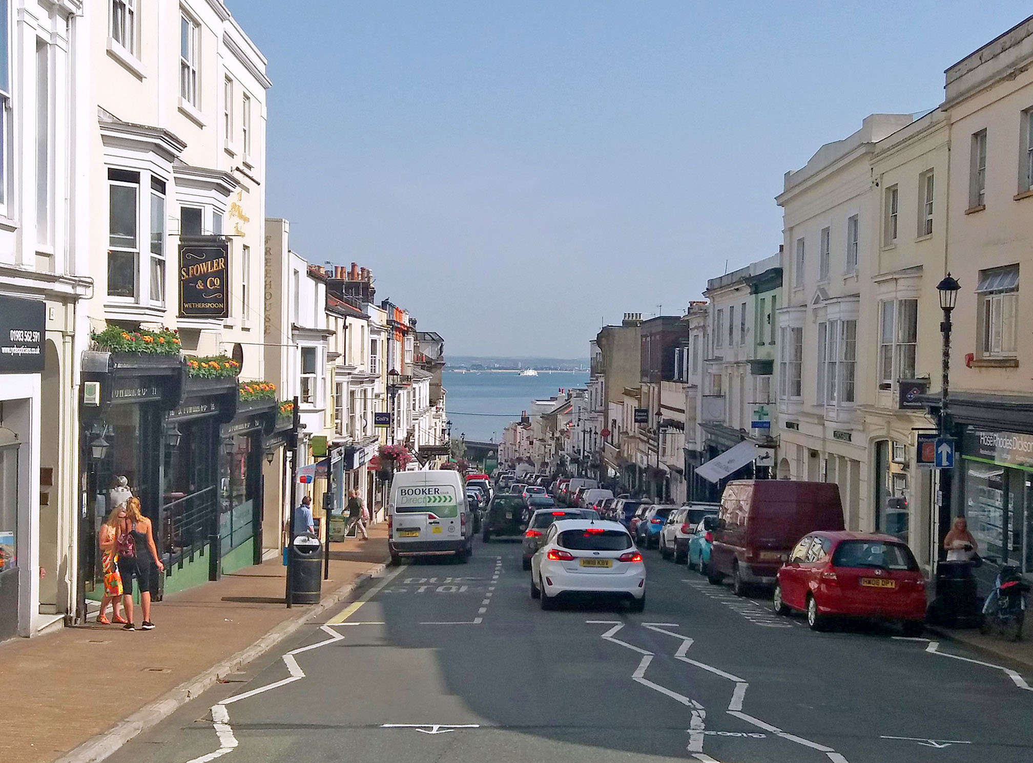 High Street, Ryde, Isle of Wight by Ilona Karse.jpg