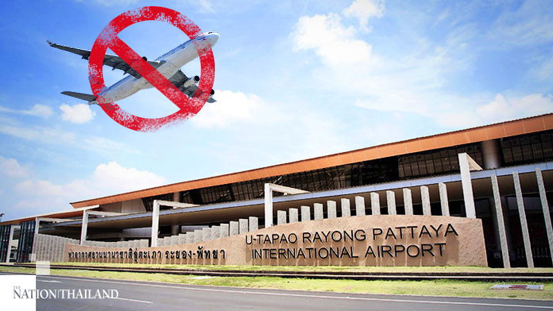 Utapao Airport closed.jpg