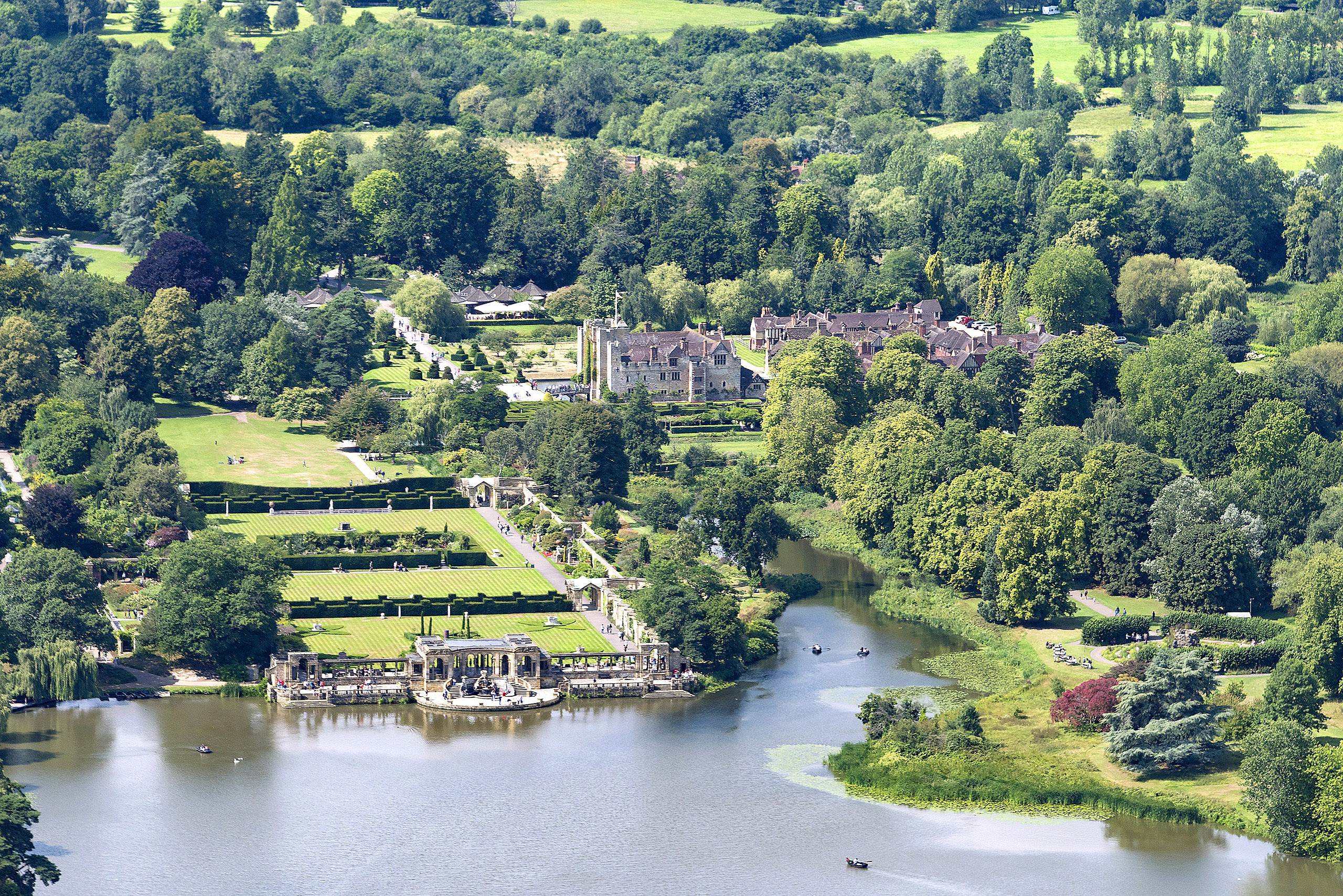Hever Castle, Kent 2 by John Fielding.jpg