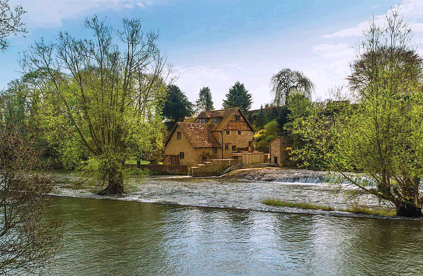 A Weir on the River Teme, Ludlow.jpg