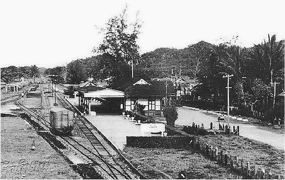 1963 Kantang {Trang Province} Train Station.jpg