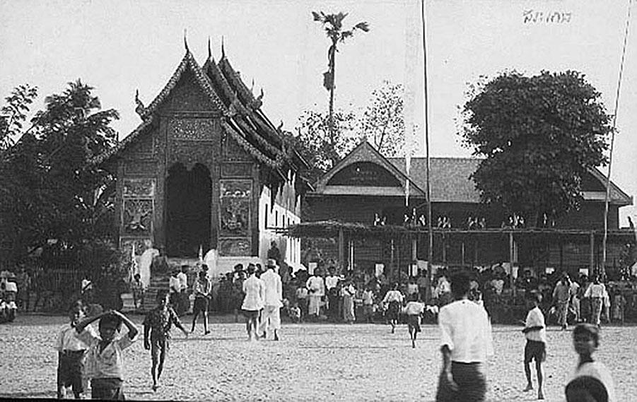 Si Sa Ket Village Temple - early part of last century.jpg