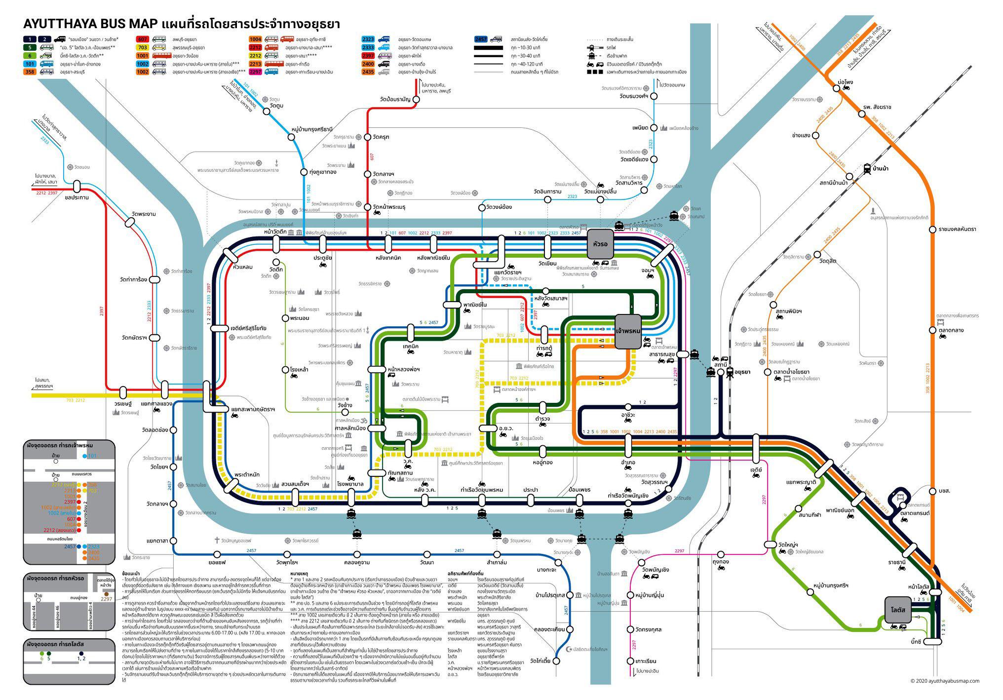 Ayutthaya Transport Map.jpg