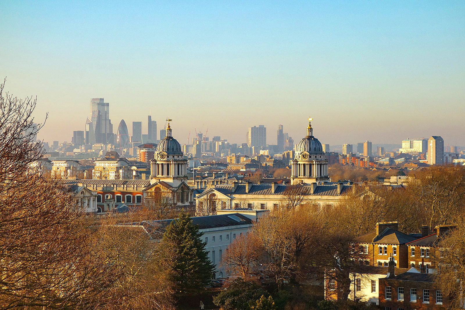 View from One Tree Hill, Greenwich by Ian Smith.jpg