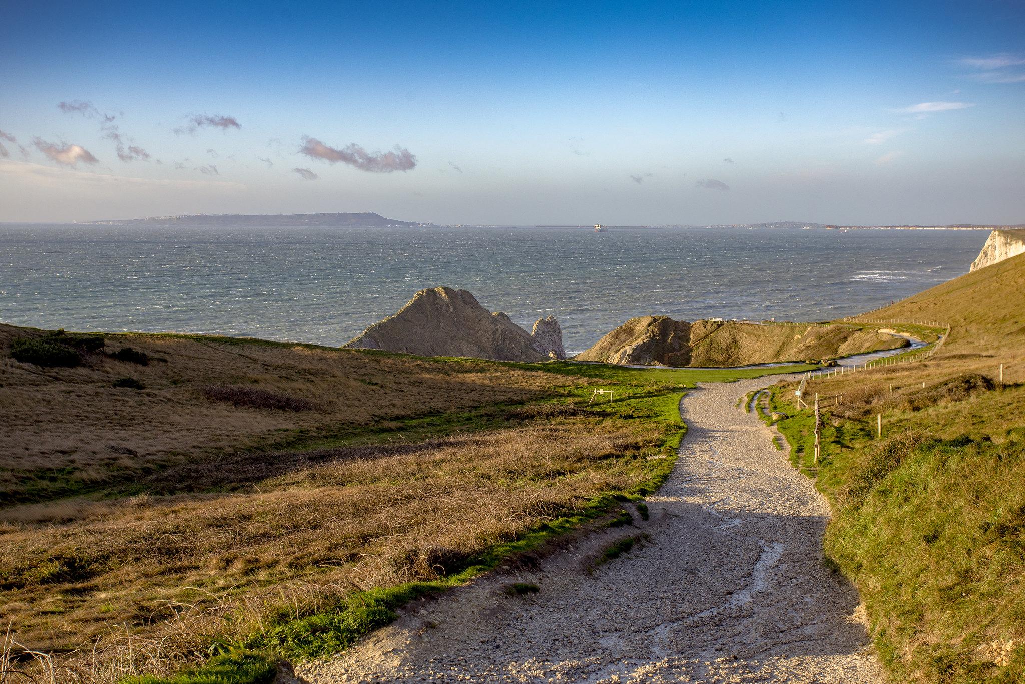 Pathway to Jurassic Coast by Steve Mantell.jpg
