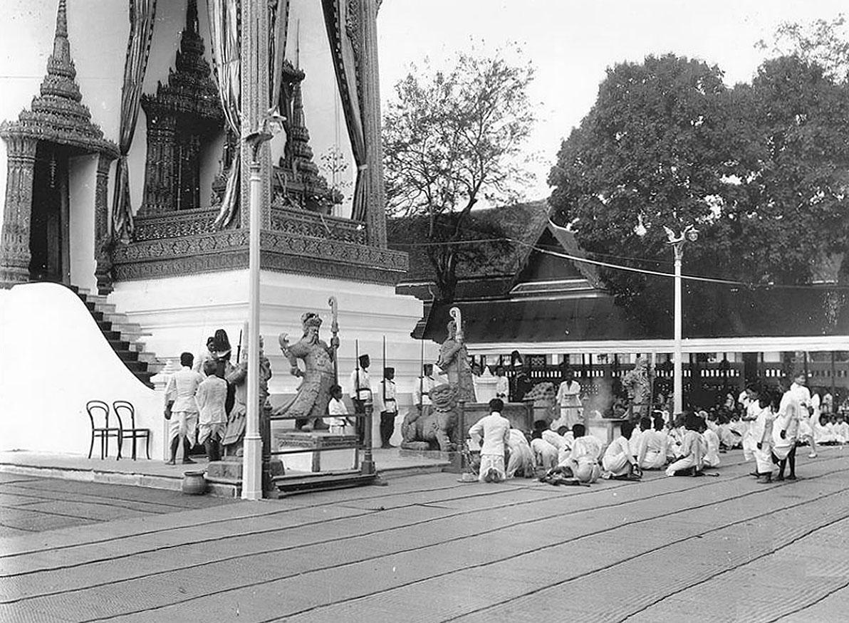 1911 King Chulalongkorn's cremation procession 08.jpg