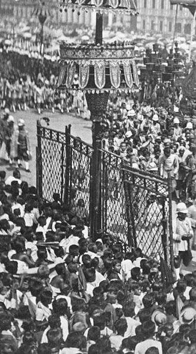 1911 King Chulalongkorn's cremation procession 09.jpg