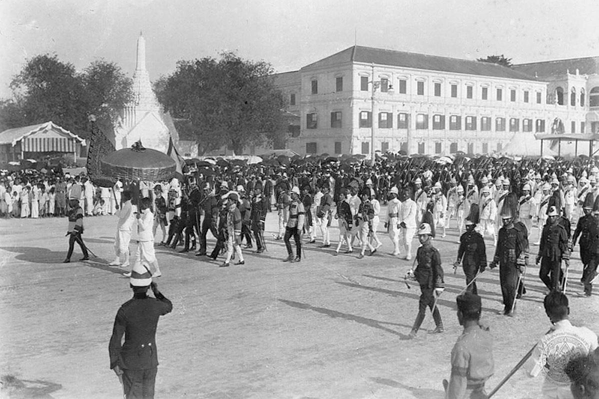 1911 King Chulalongkorn's cremation procession 11.jpg
