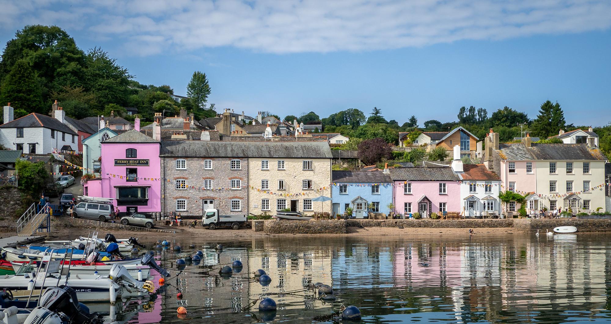 Dittisham on the River Dart, Devon by Bob Radlinski.jpg