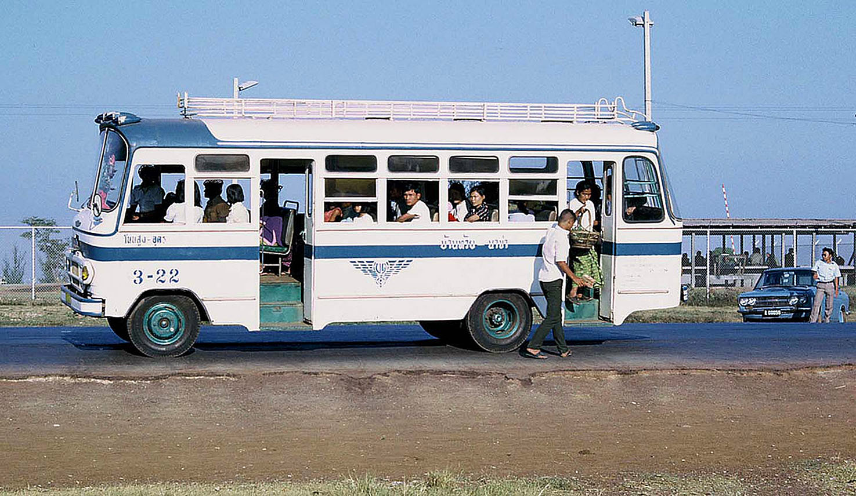 1973 Hino vintage provincial bus at Kut Chap {Udon Thani Province}.jpg