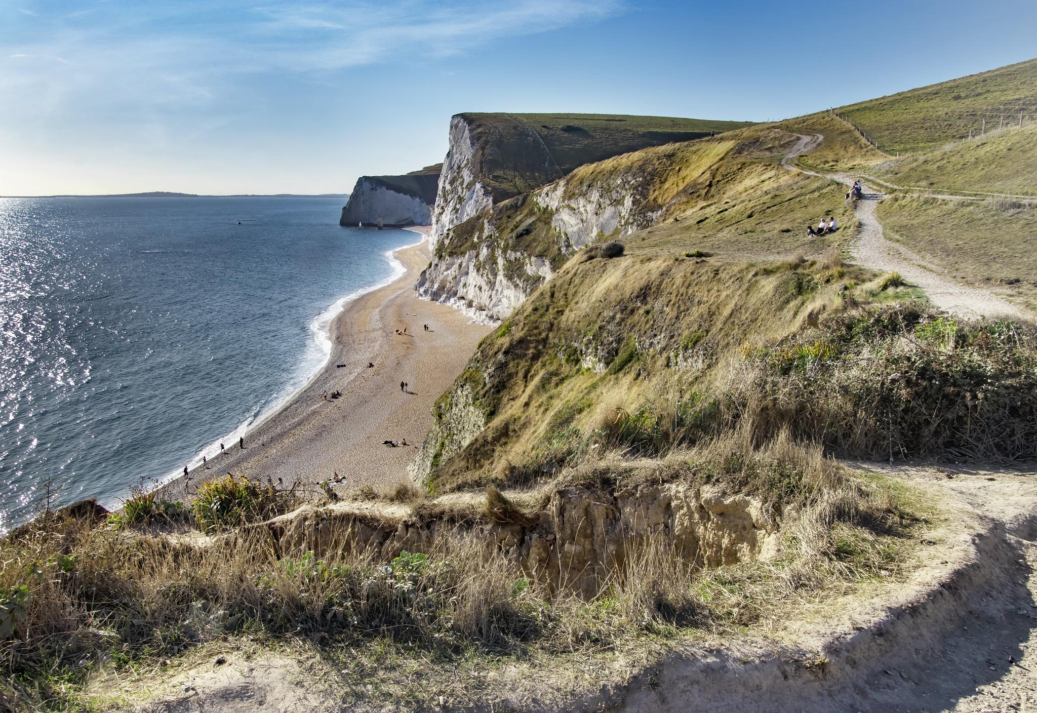 Dorset Jurassic Coast near the Durdle Door by Doris Rapp.jpg