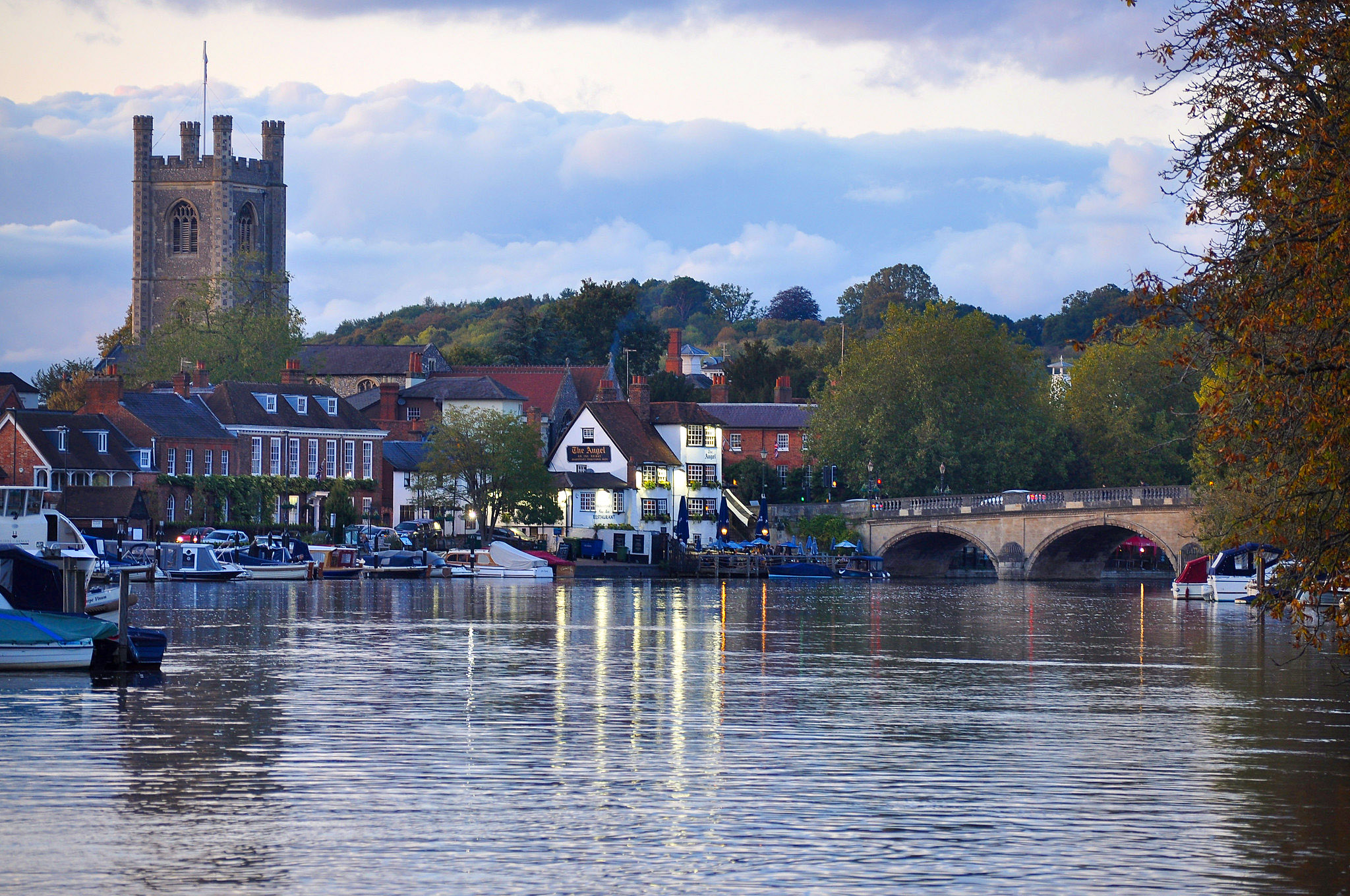 Henley on Thames from the Thames Footpath, Oxfordshire by Sonica Photography.jpg