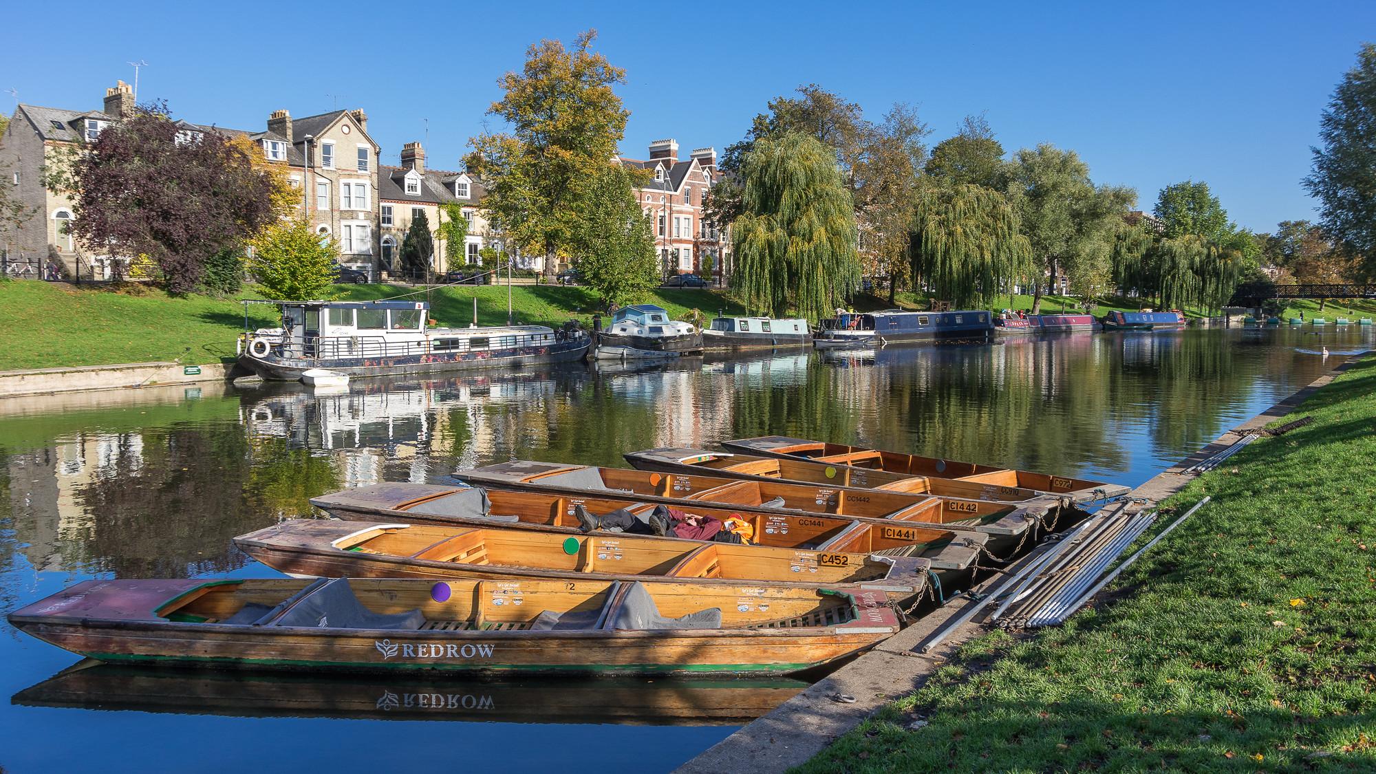 Punts, Cambridge by Ken Barley.jpg