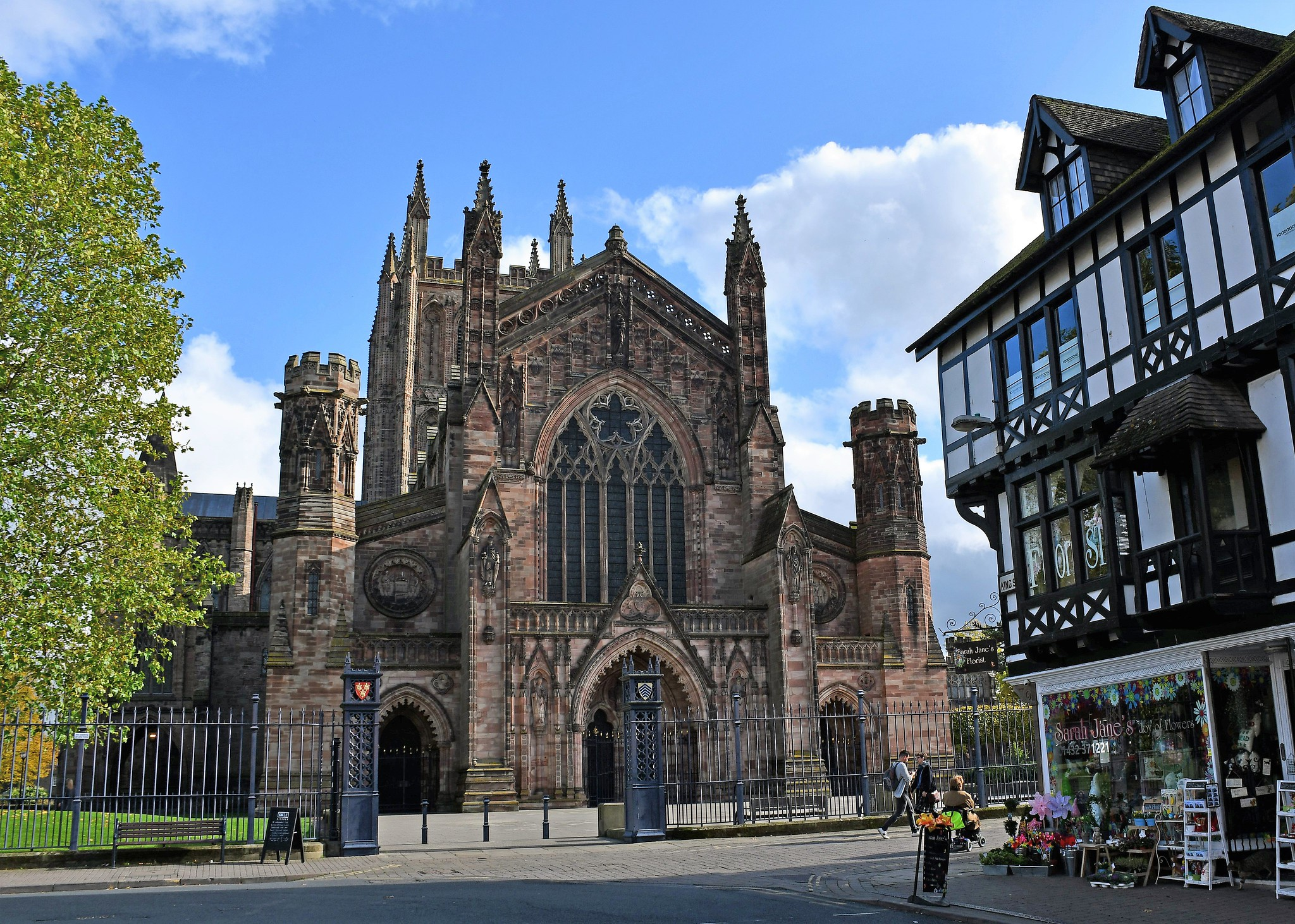 Hereford Cathedral from King Street by Majorshots.jpg