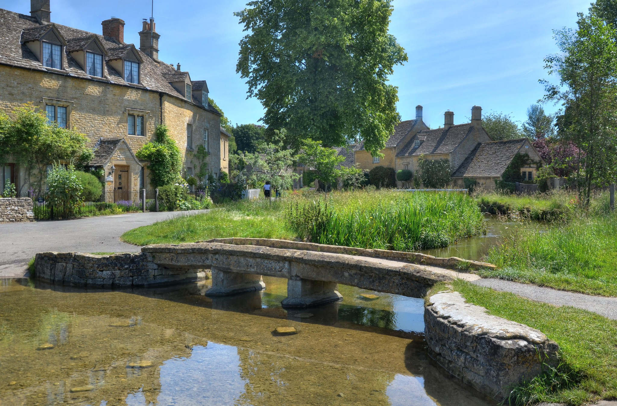 Lower Slaughter, The Cotswolds, Gloucestershire by Baz Richardson.jpg