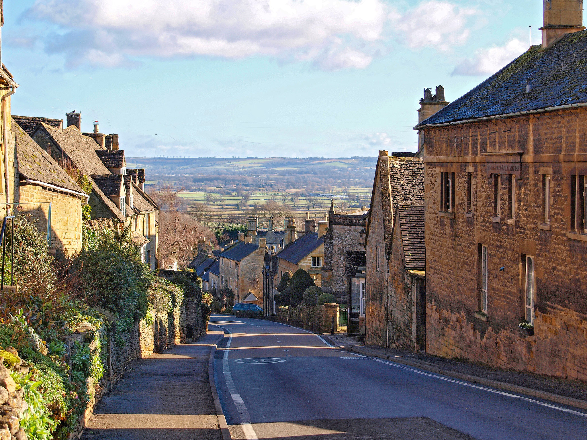 Bourton-on-the-Hill, Gloucestershire by Andrew S Brown.jpg