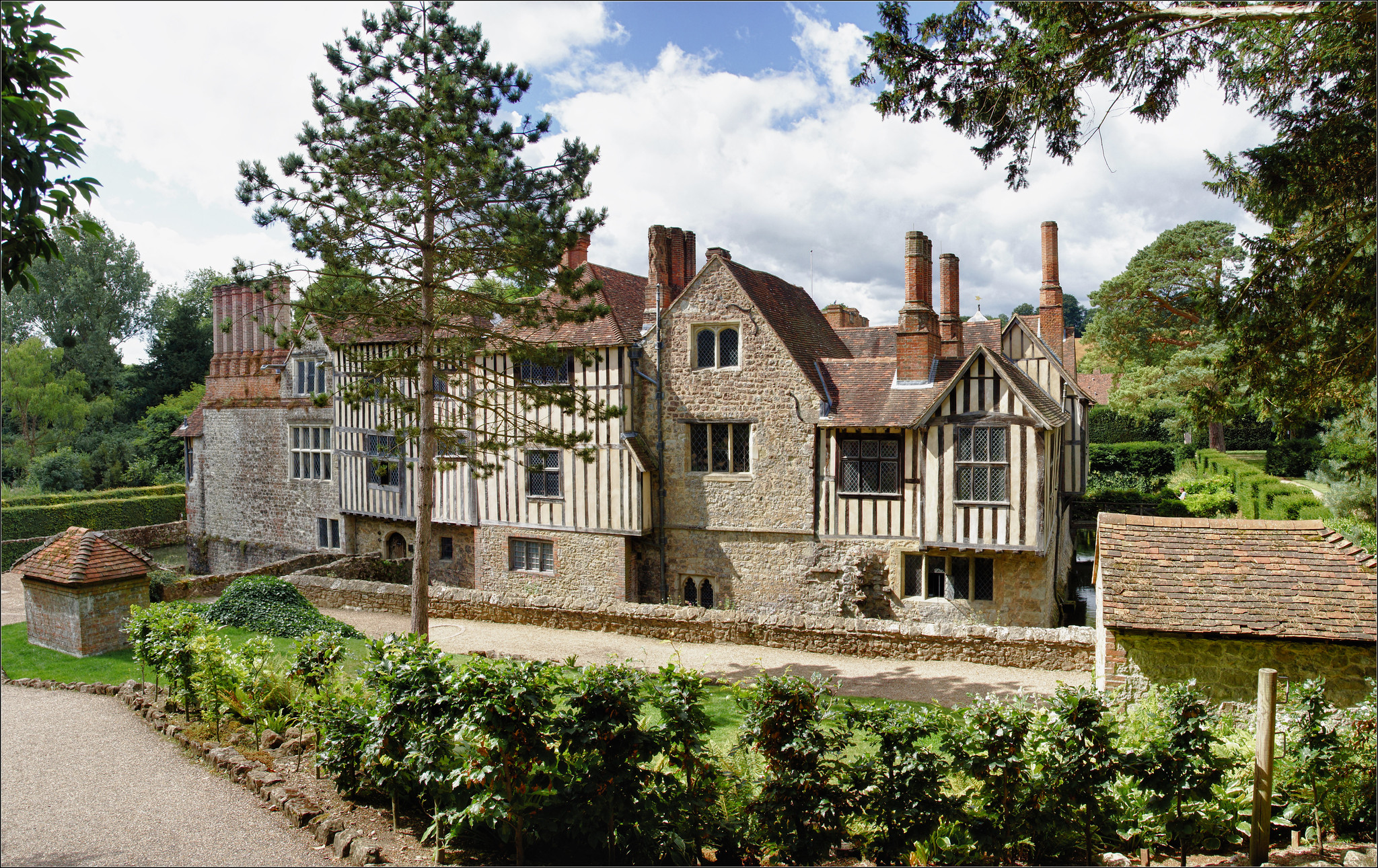 Ightham Mote, Ightham, Sevenoaks, Kent by Bert Kaufmann.jpg