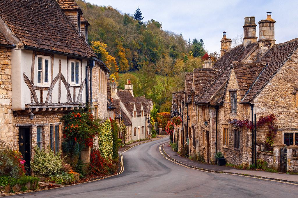 Village of Castle Combe, Autumn, Wiltshire by Joe Price.jpg