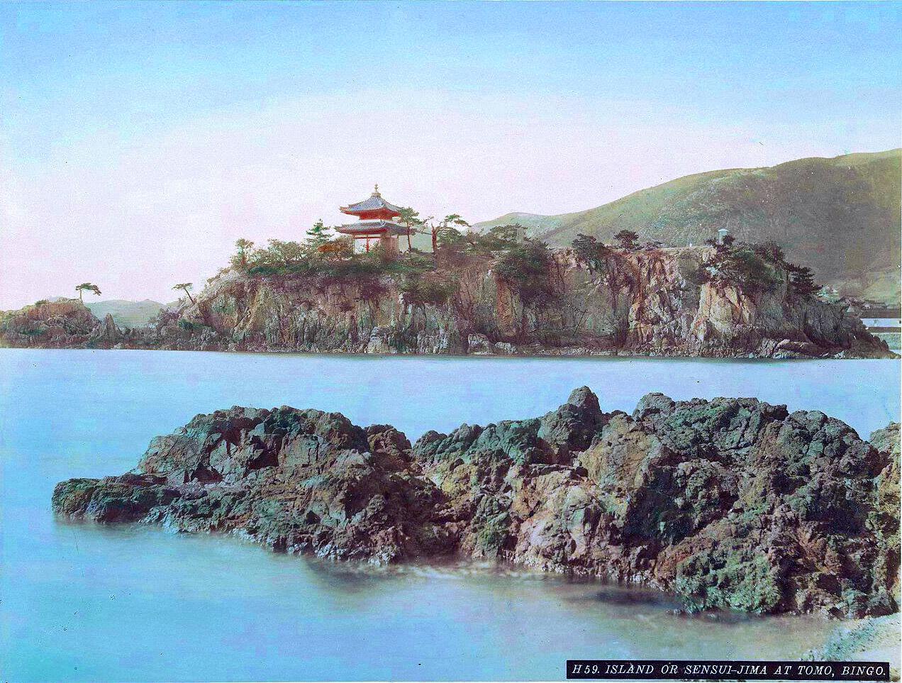1870 Island or Sensui-Jima at Tomo, Bingo.jpg