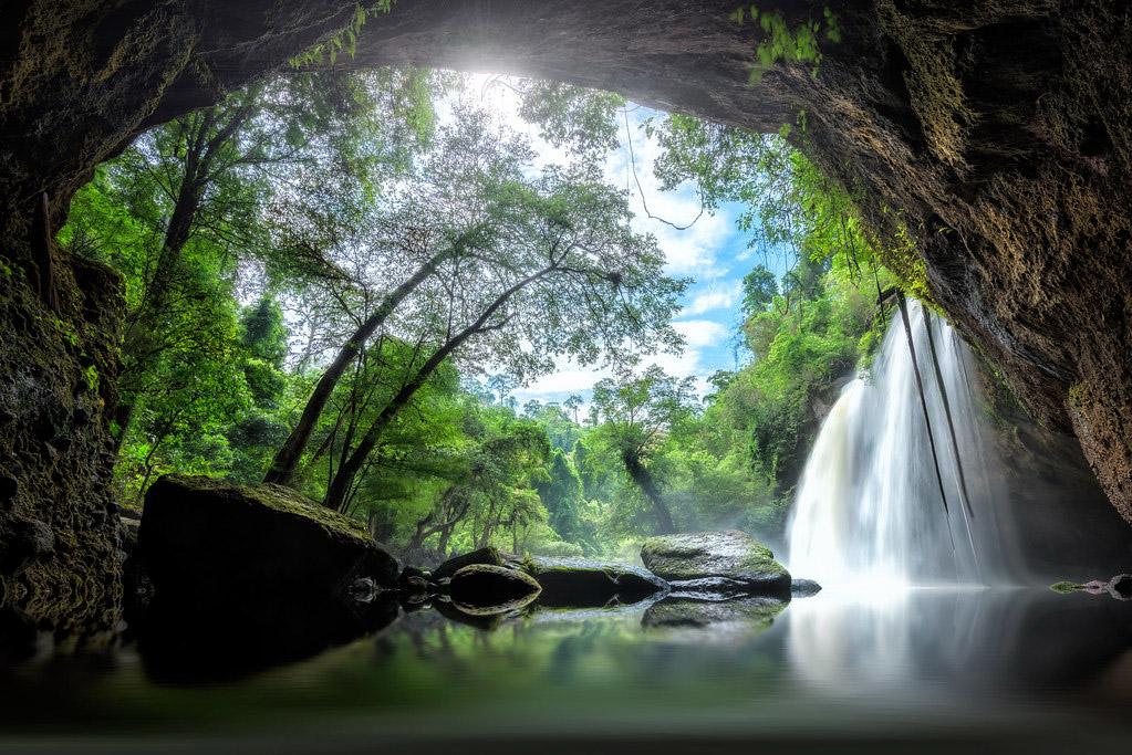 Haew Suwat Waterfall at Khao Yai National Park by Chantip Ditcharoen.jpg