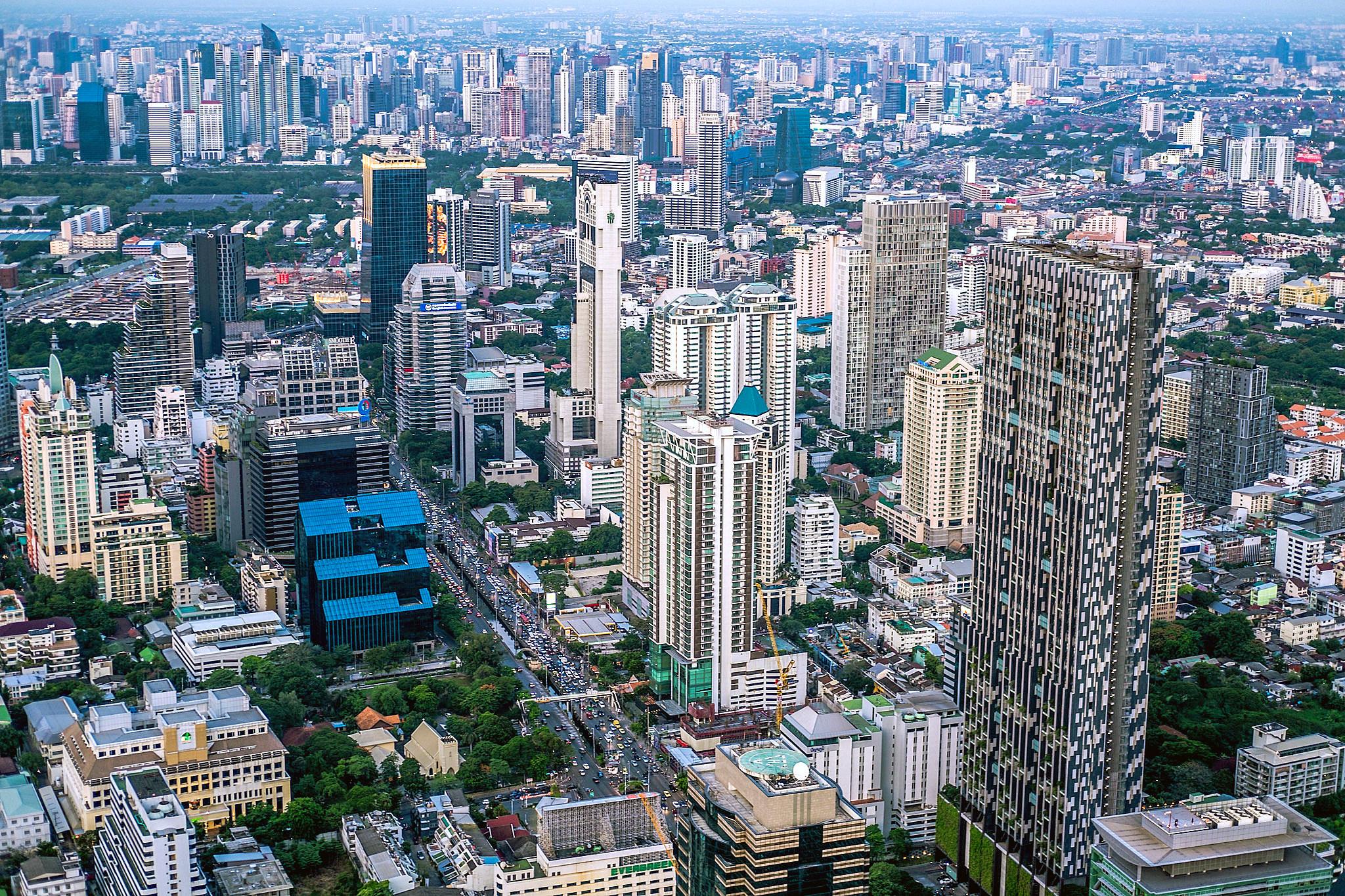Bangkok from High Up by Kingu Y.jpg