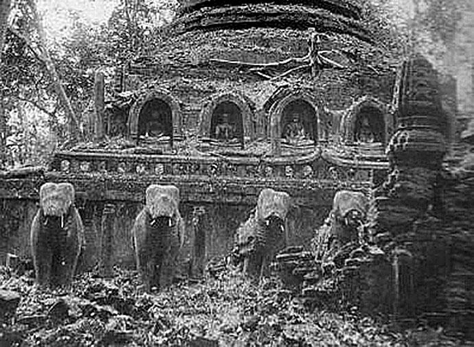 1888 Wat Dong Ta ruins, Buriram {since restored}.jpg