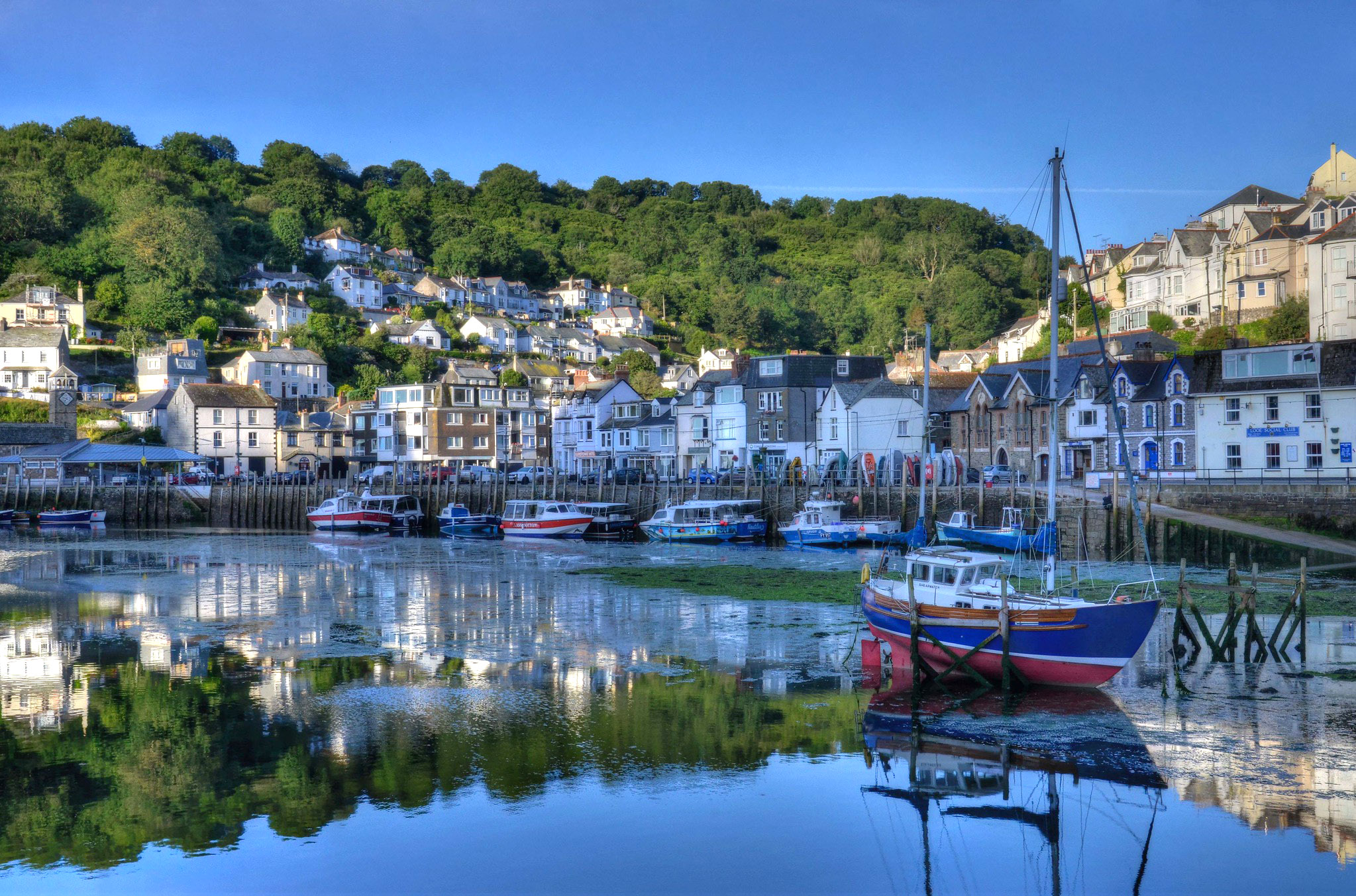 Reflections of West Looe, Cornwall by Baz Richardson.jpg