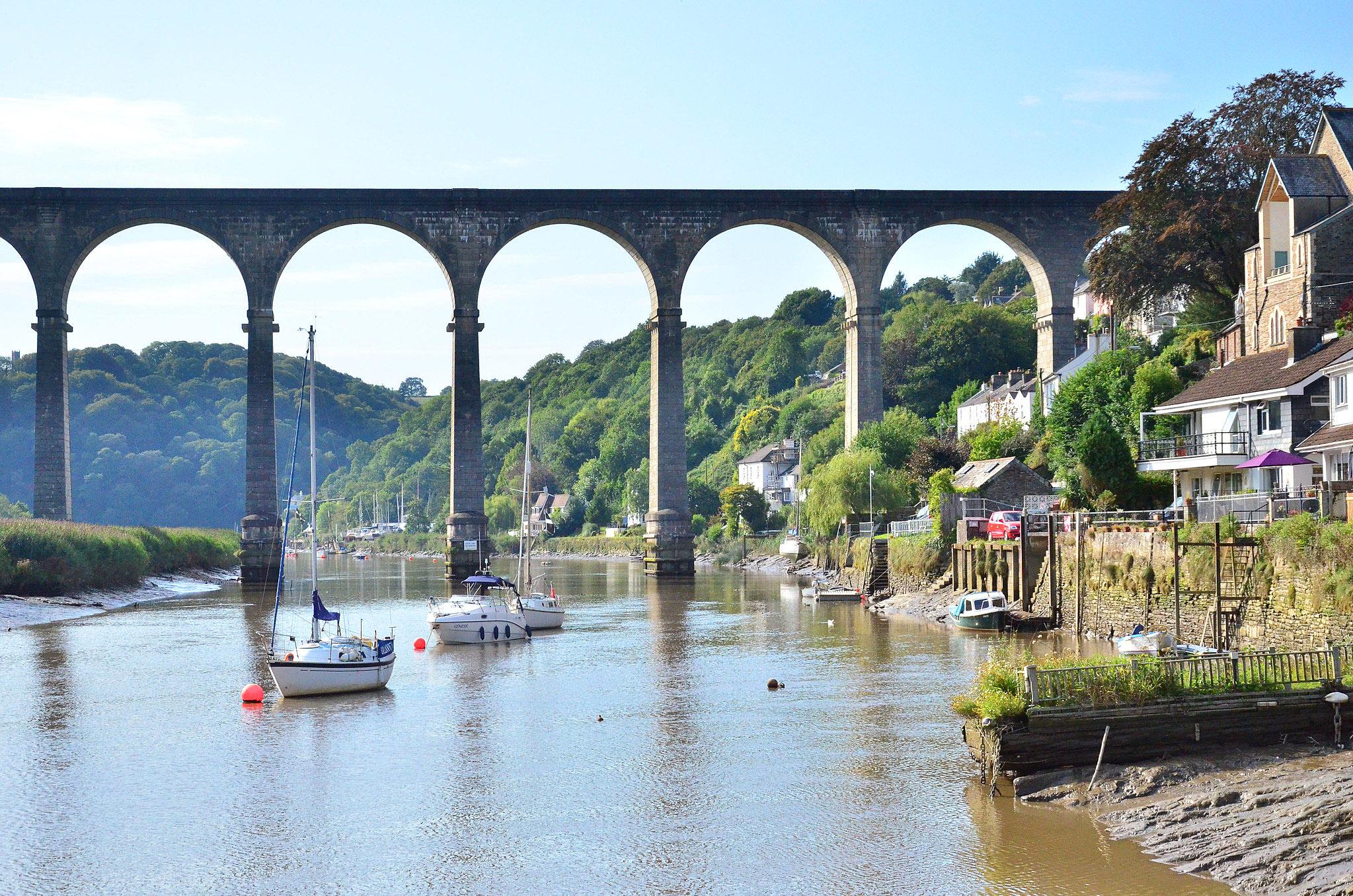 Calstock, Cornwall by Baz Richardson.jpg