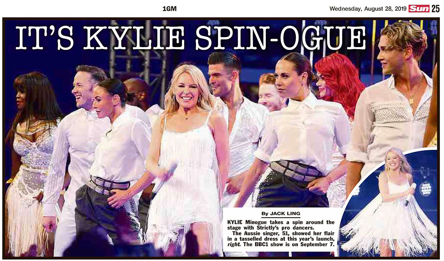 The Sun UK  28 August 2019 Kylie.jpg