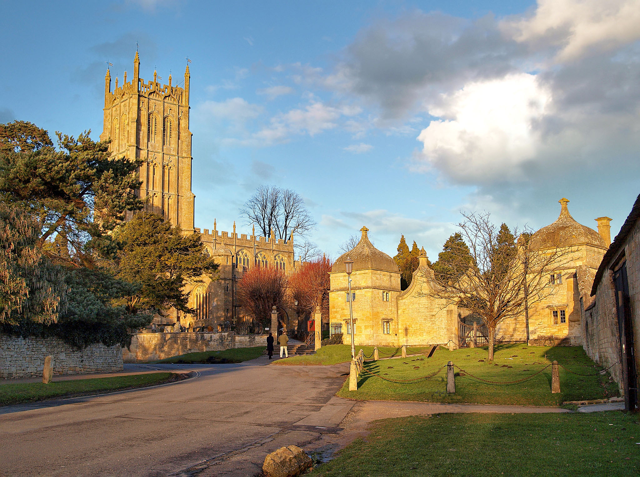 Chipping Campden, Gloucestershire on a winter's afternoon by Andrew S Brown.jpg