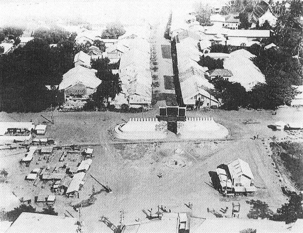 1931 Korat, Before Thao Suranaree Monument.jpg