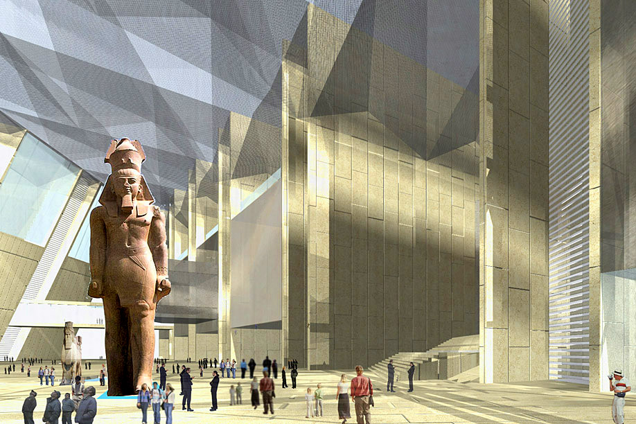 The Atrium of Grand Egyptian Museum, Giza 2.jpg