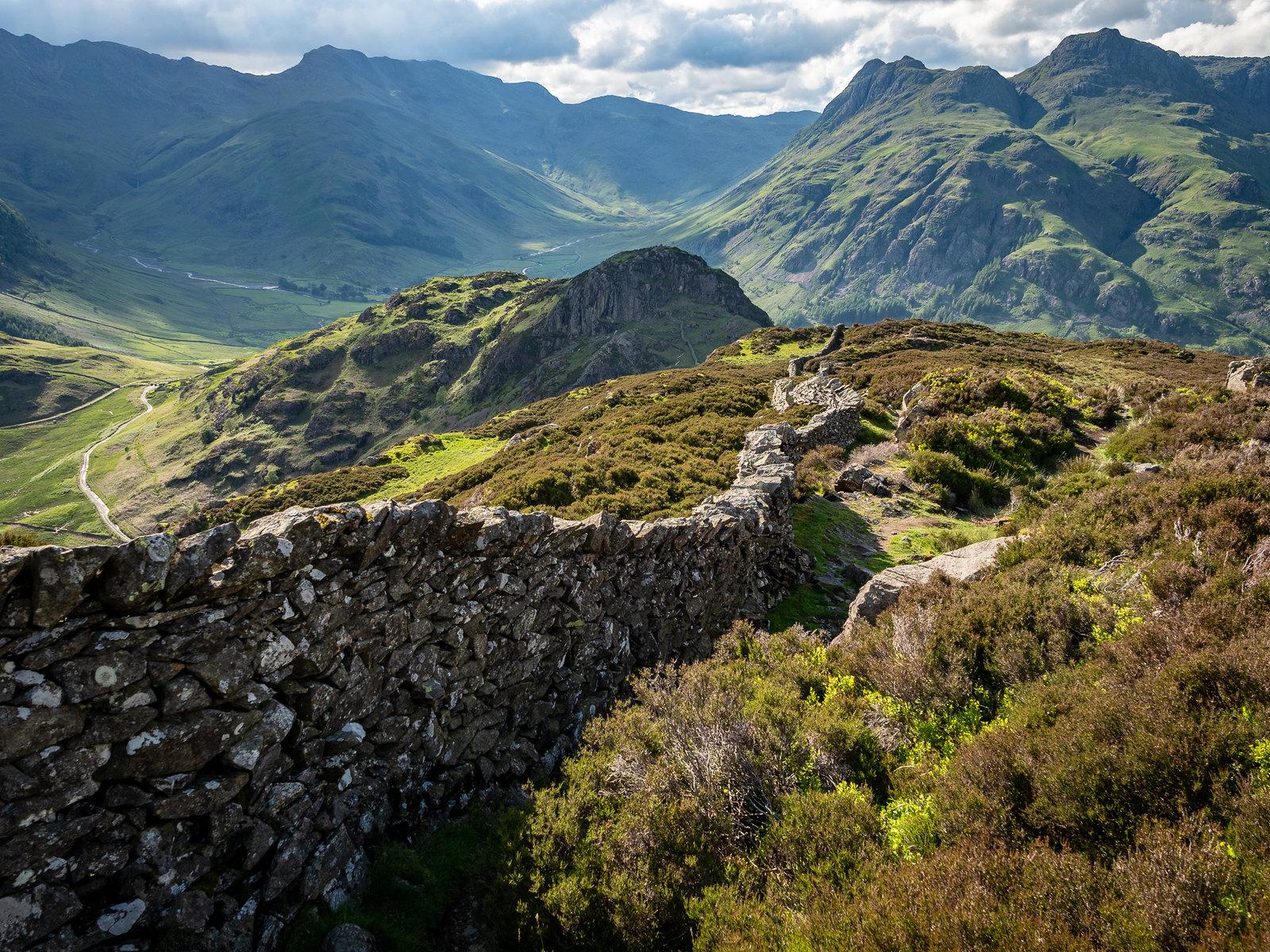 The Great Wall of Lingmoor Fell, Langdale by Bob Radlinski.jpg
