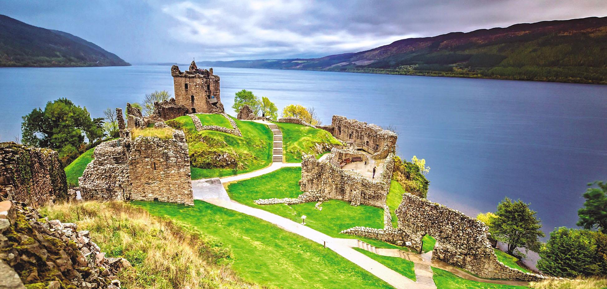 Urquhart Castle, Loch Ness, Scotland by Susanne Pommer.jpg