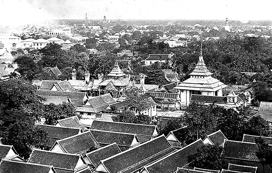 1891 panoramic view of Bangkok from Wat Saket.jpg