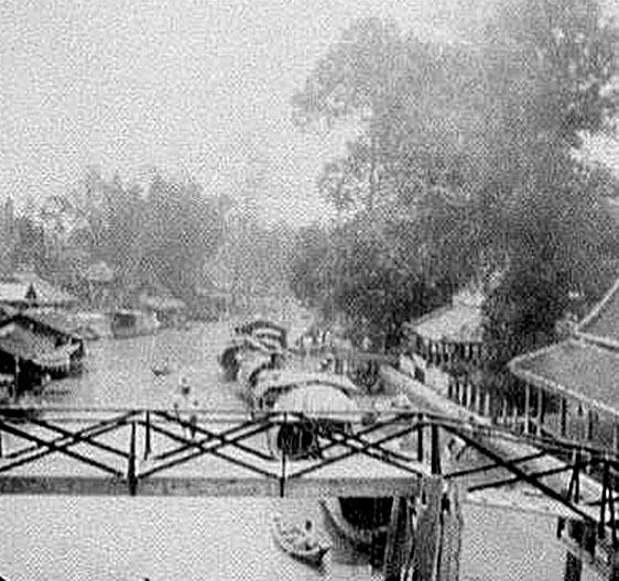 1896 Bang Pa-In canal scene near the Royal Palace.jpg
