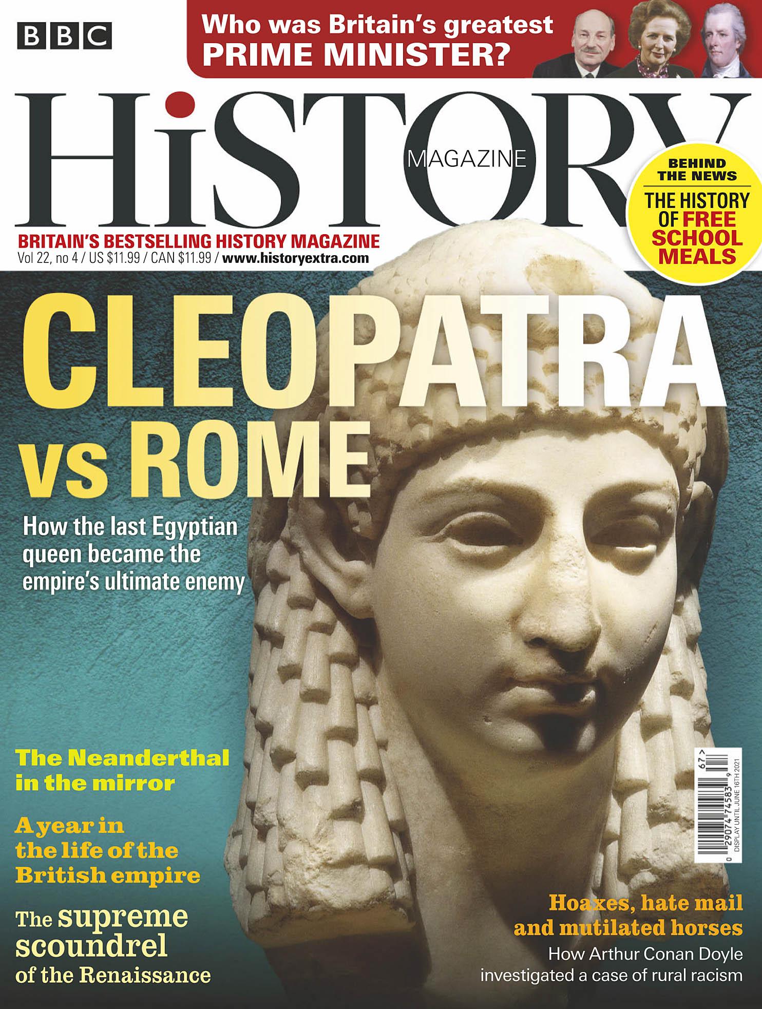 BBC History 2021-04 Cleopatra 01.jpg
