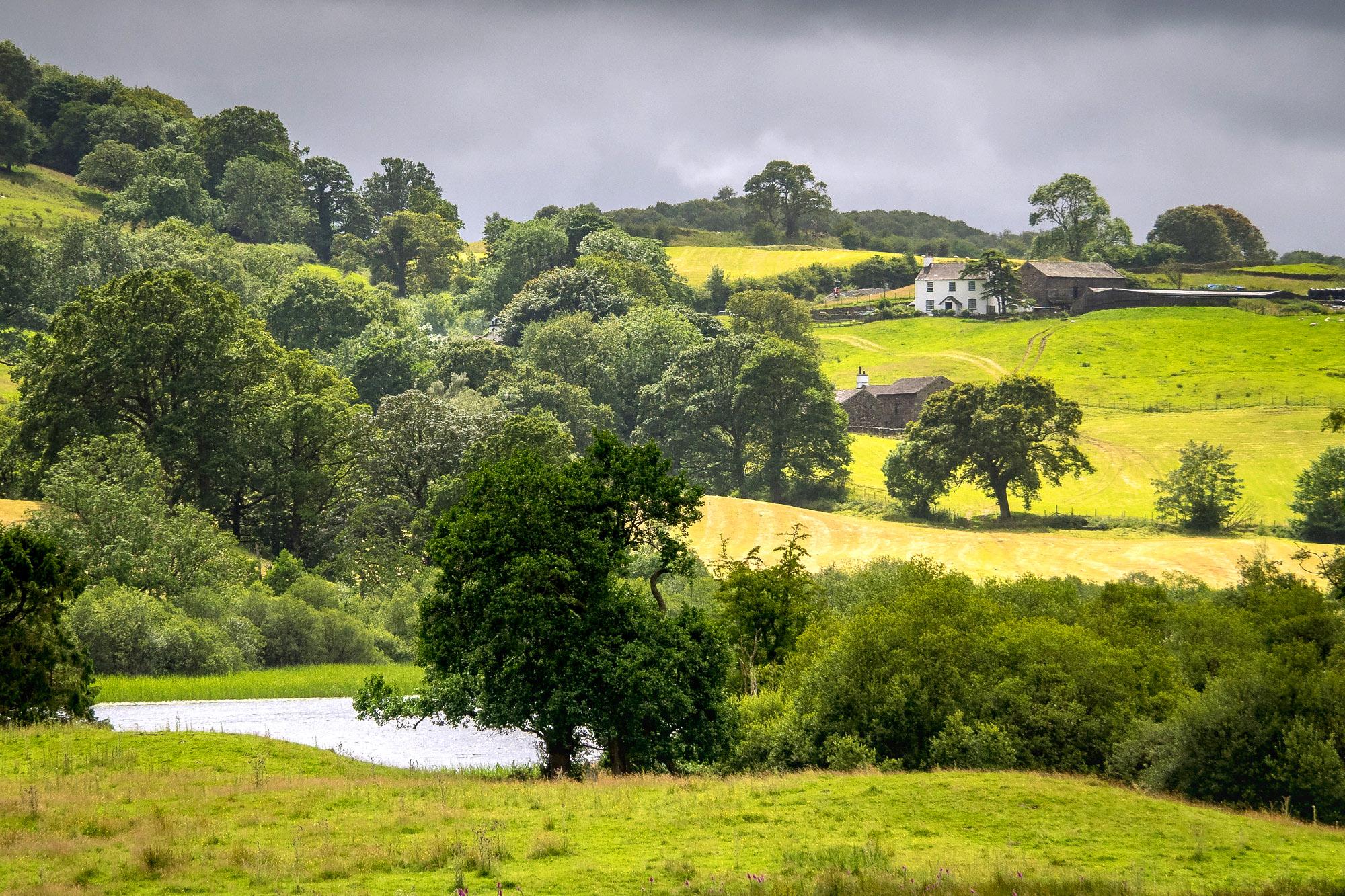 Farm between High Wray and Hawkshead, Cumbria by Bob Radlinski.jpg