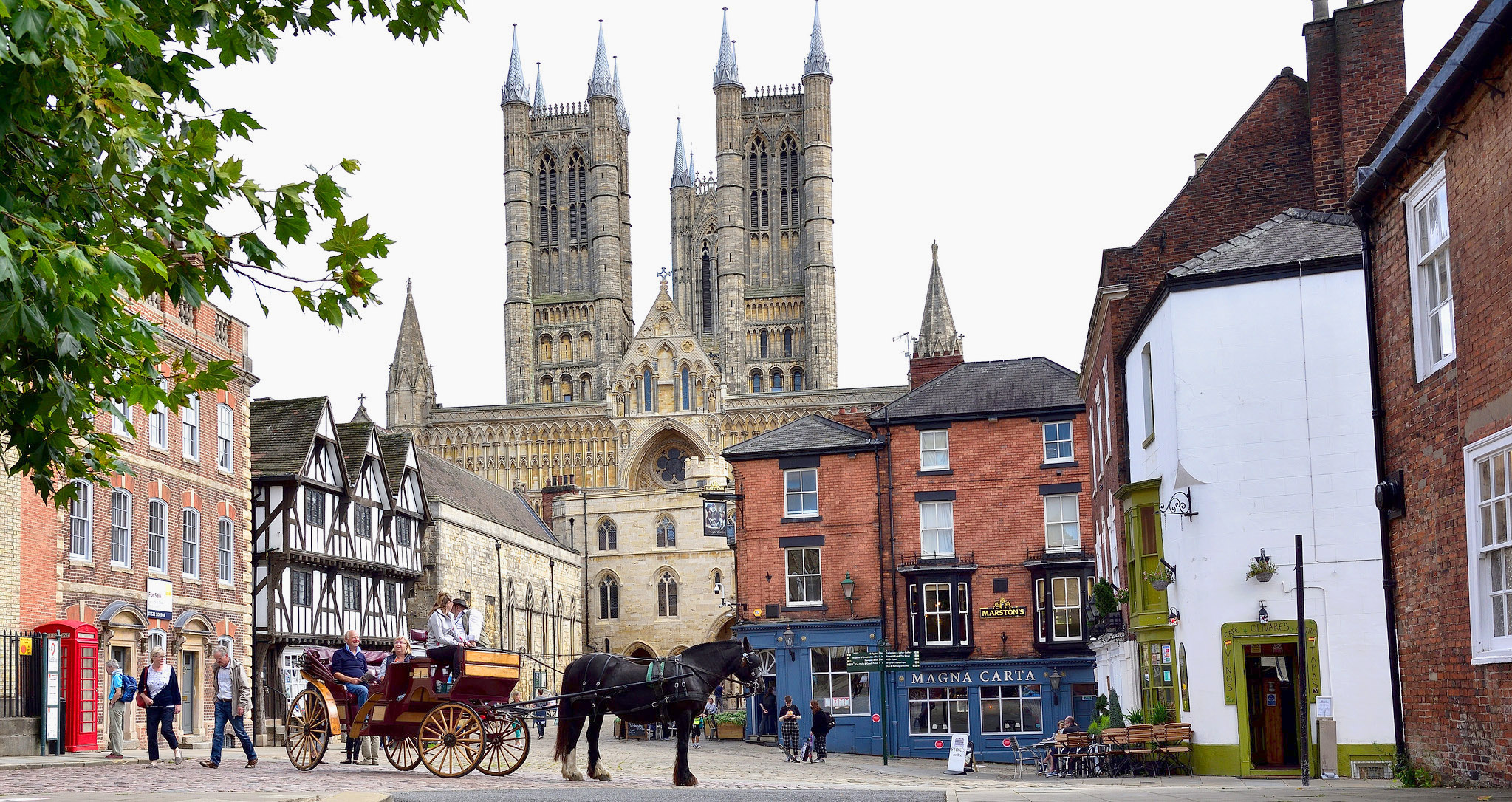 Lincoln Cathedral St Mary's, Lincoln, Lincolnshire by Christopher Murkin.jpg