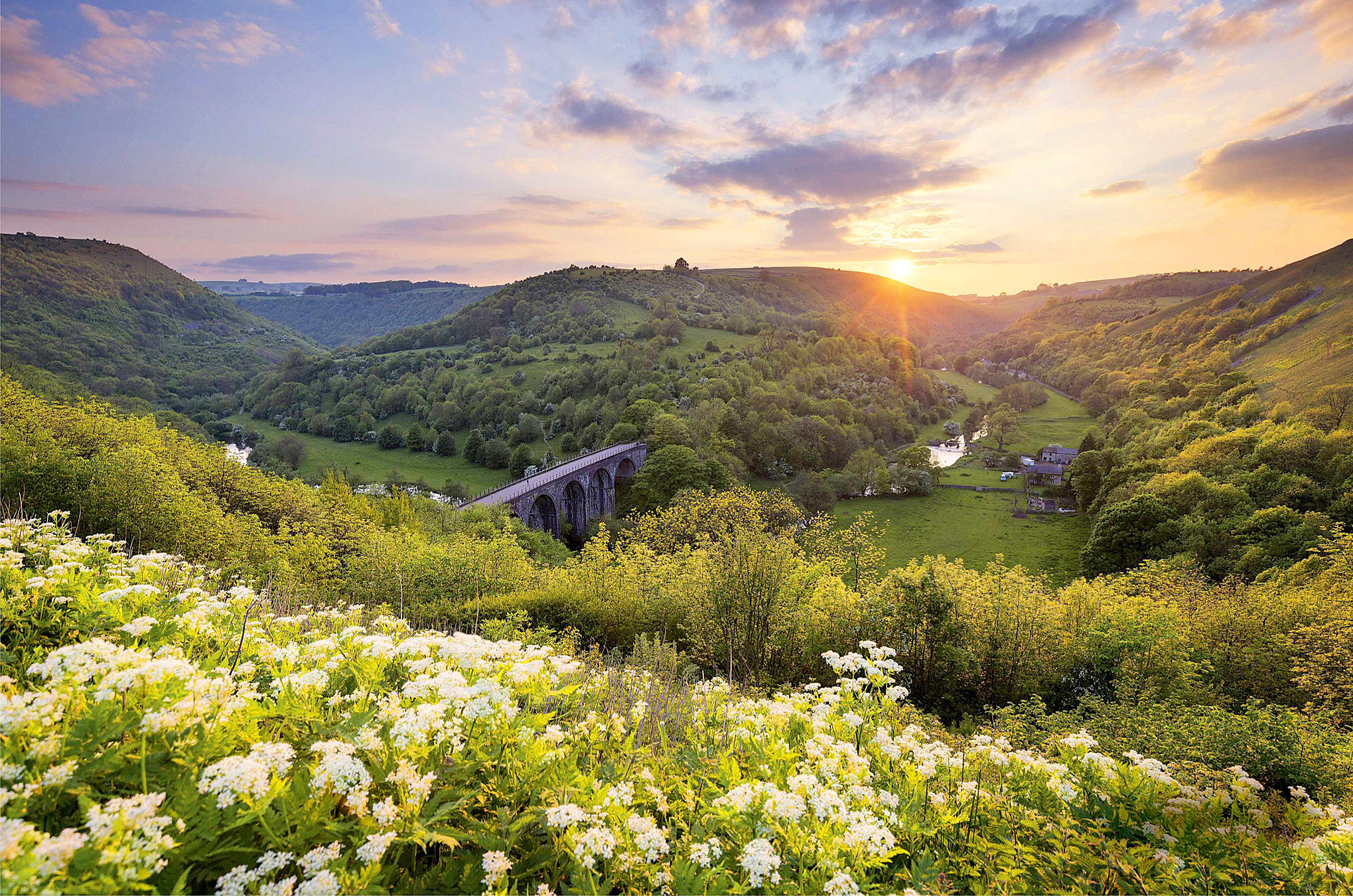 Monsal Dale and up the Wye Valley, Peak District by Francis Taylor.jpg