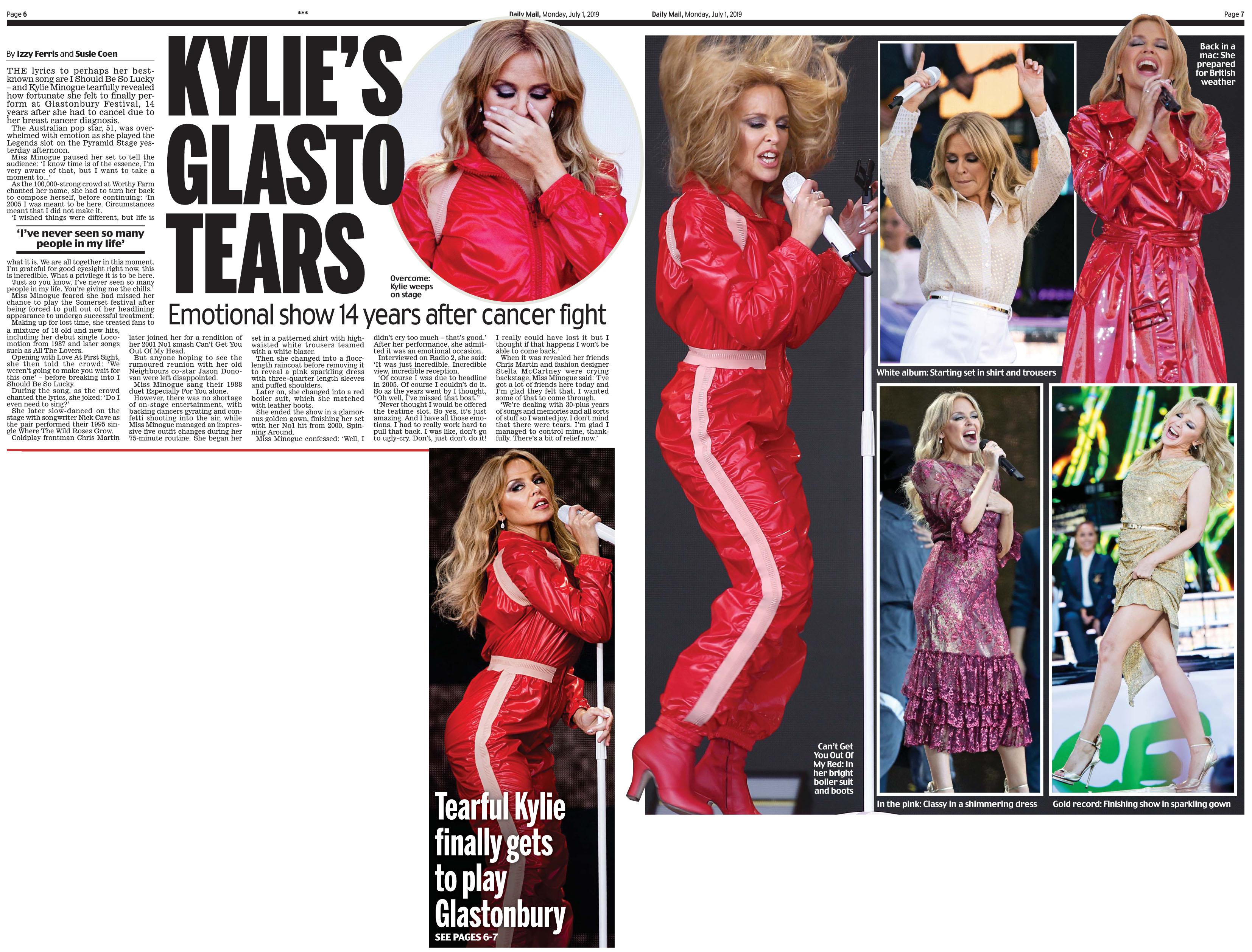 Daily Mail July 1 2019 Glasto Kylie.jpg