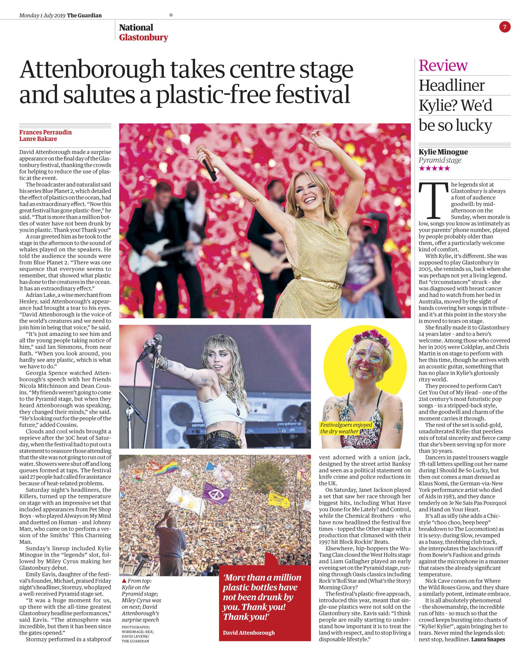 The Guardian July 1 2019 Glasto Kylie.jpg