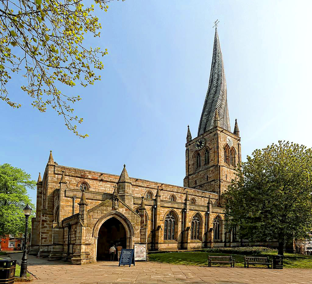 Church of St Mary's and All Saints, Chesterfield, Derbyshire by Woody1981.jpg