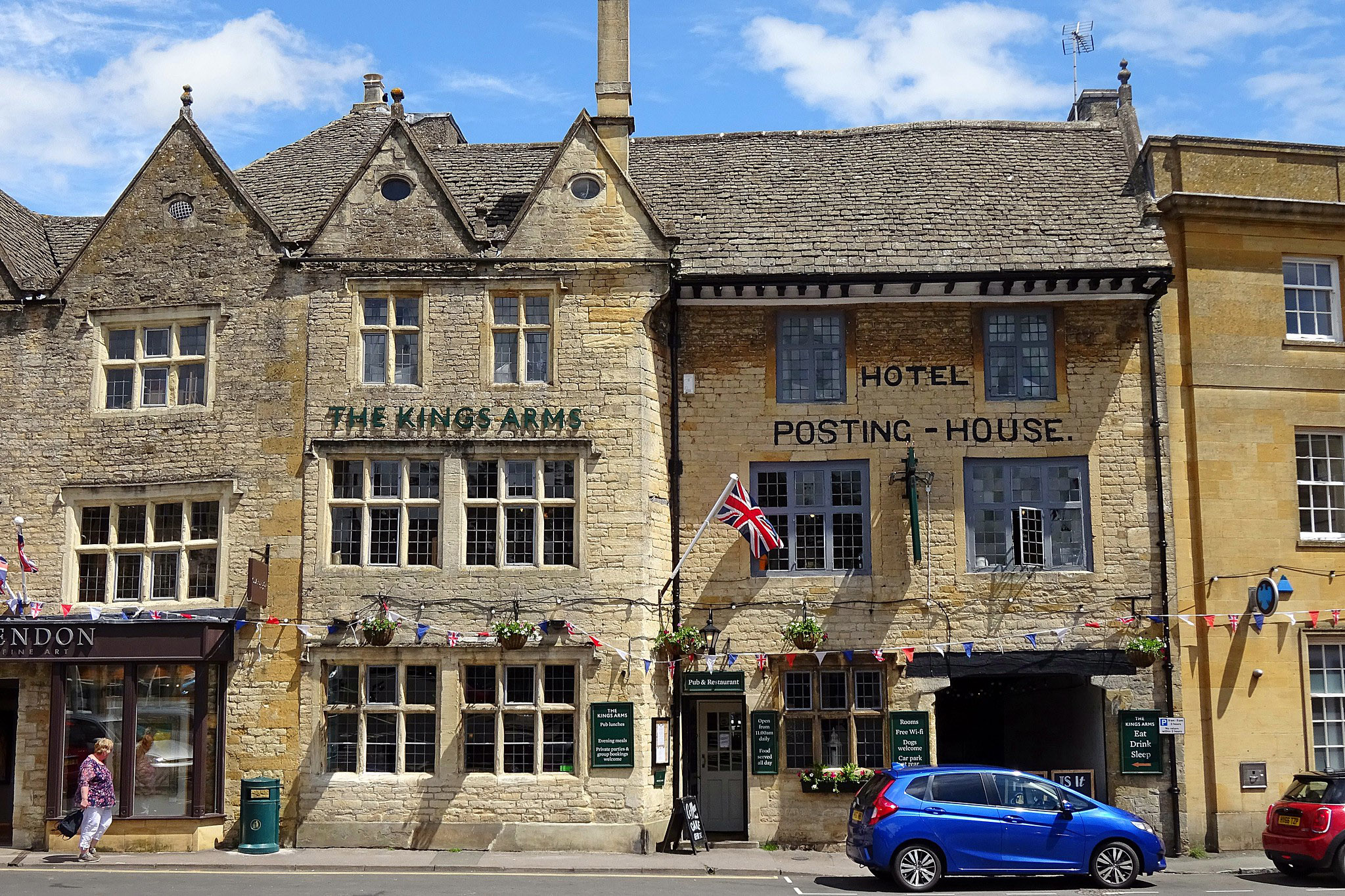 Stow On The Wold-Kings Arms by Saxon Sky.jpg