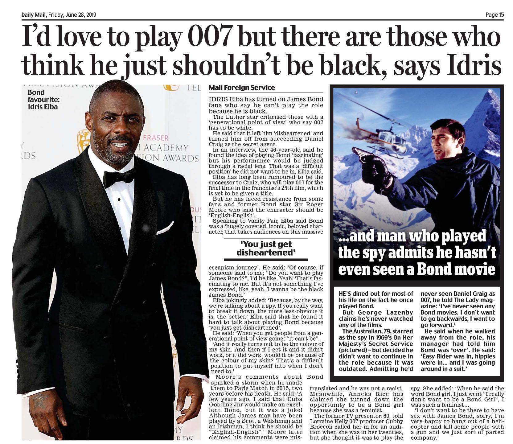 Daily Mail June 28 2019 Bond.jpg