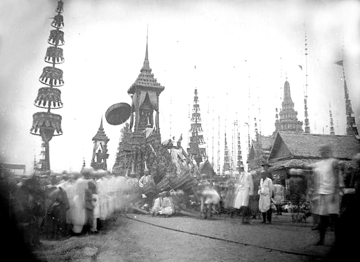 1868 King Mongkut cremation ceremony.jpg